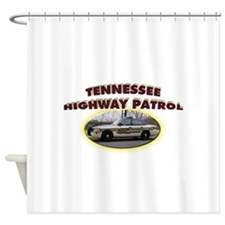 Tennessee Highway Patrol Shower Curtain