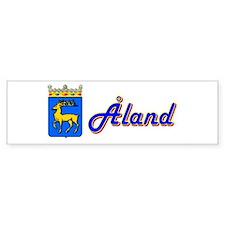 Åland Bumper Bumper Sticker