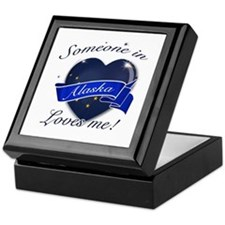 Alaska Heart Designs Keepsake Box