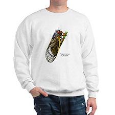 Cecropia Moth Caterpillar Sweatshirt