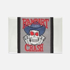 Rampart Crash Rectangle Magnet