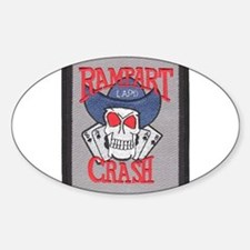 Rampart Crash Oval Decal