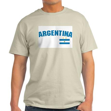 Argentina Ash Grey T-Shirt