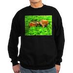 Nuzzling Cows Sweatshirt (dark)