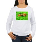 Nuzzling Cows Women's Long Sleeve T-Shirt