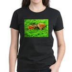 Nuzzling Cows Women's Dark T-Shirt