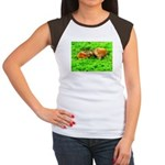 Nuzzling Cows Women's Cap Sleeve T-Shirt