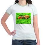 Nuzzling Cows Jr. Ringer T-Shirt
