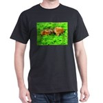 Nuzzling Cows Dark T-Shirt