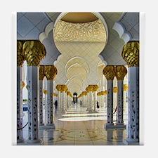 Sheikh Zayed Mosque Corridor Tile Coaster