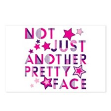 Not Just Another Pretty Face Postcards (Package of