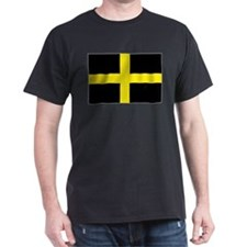 St David Cross Black T-Shirt