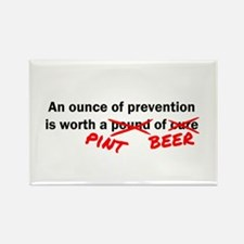 A Pint of Beer Rectangle Magnet (10 pack)