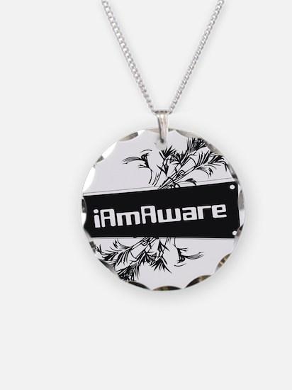 iAmAware Necklace Circle Charm