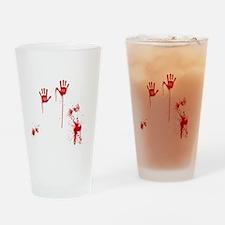 Horror Movie Drinking Glass