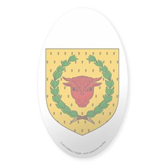 Iron Ox Sticker (Oval 10 pk)