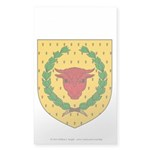 Iron Ox Sticker (Rectangle 50 pk)