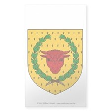 Iron Ox Sticker (Rectangle 10 pk)