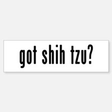 GOT SHIH TZU Car Car Sticker