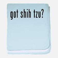 GOT SHIH TZU baby blanket
