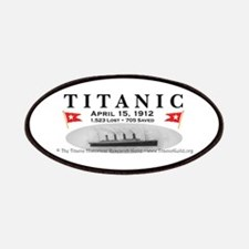 Titanic Ghost Ship (white) Patches