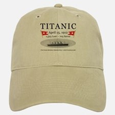 Titanic Ghost Ship (white) Baseball Baseball Cap