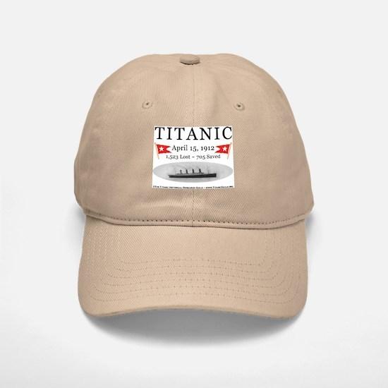 Titanic Ghost Ship (white) Baseball Baseball Cap