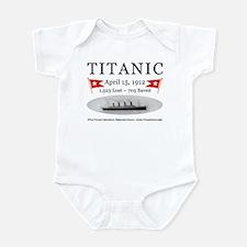 Titanic Ghost Ship (white) Infant Bodysuit