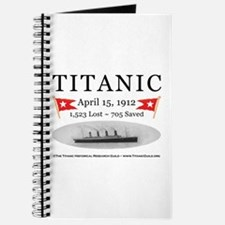 Titanic Ghost Ship (white) Journal