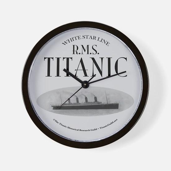 "RMS Titanic Ghost Ship 10"" Wall Clock"
