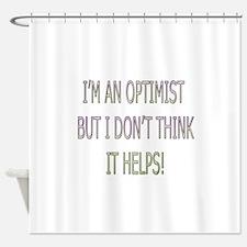 Optimist Shower Curtain