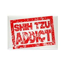 Shih Tzu ADDICT Rectangle Magnet