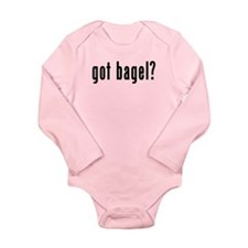 GOT BAGEL Long Sleeve Infant Bodysuit