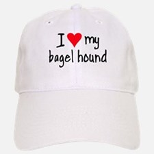 I LOVE MY Bagel Baseball Baseball Cap