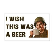 I Wish This Was A Beer Car Magnet 20 x 12