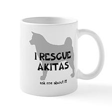 I RESCUE Akitas Mug