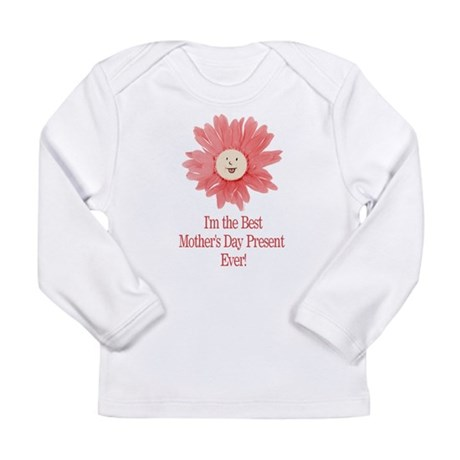 Best Mother's Day Present - P Long Sleeve Infant T