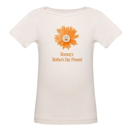 Mommy's Mothers Day Present Organic Baby T-Shirt