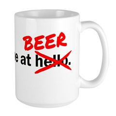 You had me at Beer Mug