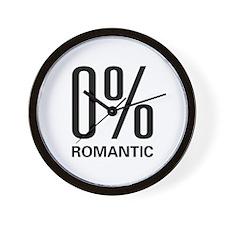 0% Romantic Wall Clock