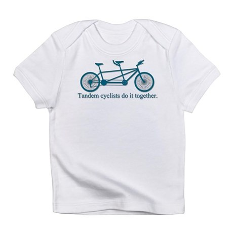 Tandem Cyclists Do It Together Infant T-Shirt