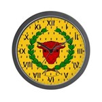 Iron Ox Wall Clock