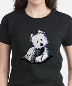 Muggles Westie with Shoe Tee