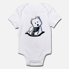 Muggles Westie with Shoe Infant Bodysuit