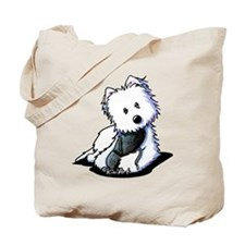 Muggles Westie with Shoe Tote Bag