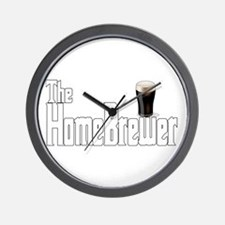 The HomeBrewer Stout Wall Clock