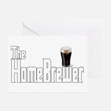 The HomeBrewer Stout Greeting Card