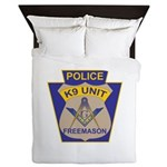 K9 Corps Masons Queen Duvet