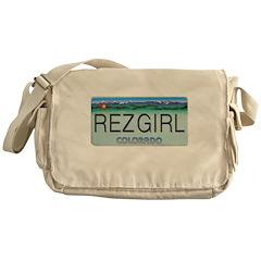 Colorado Rez Girl Messenger Bag