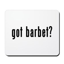 GOT BARBET Mousepad